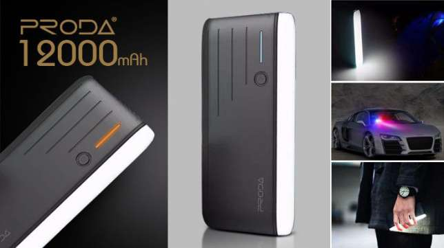 Powerbank Remax Proda ppl-19 time 12000 mah