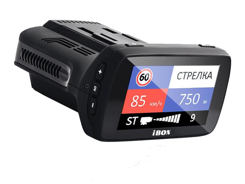 iBOX Combo F5 Видеорегистратор + GPS + радар-детектор